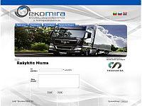 www.ekomira.lt - tarptautinių pervežimų įmonė